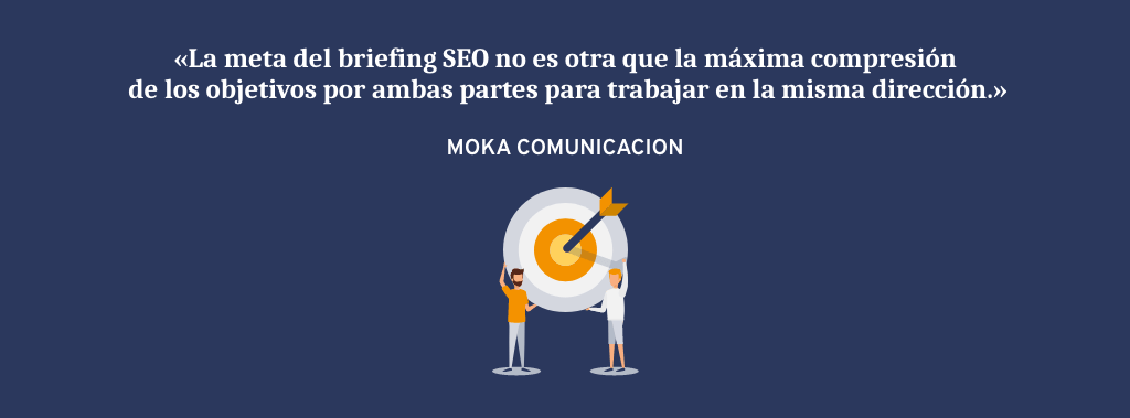 Meta de un briefing SEO