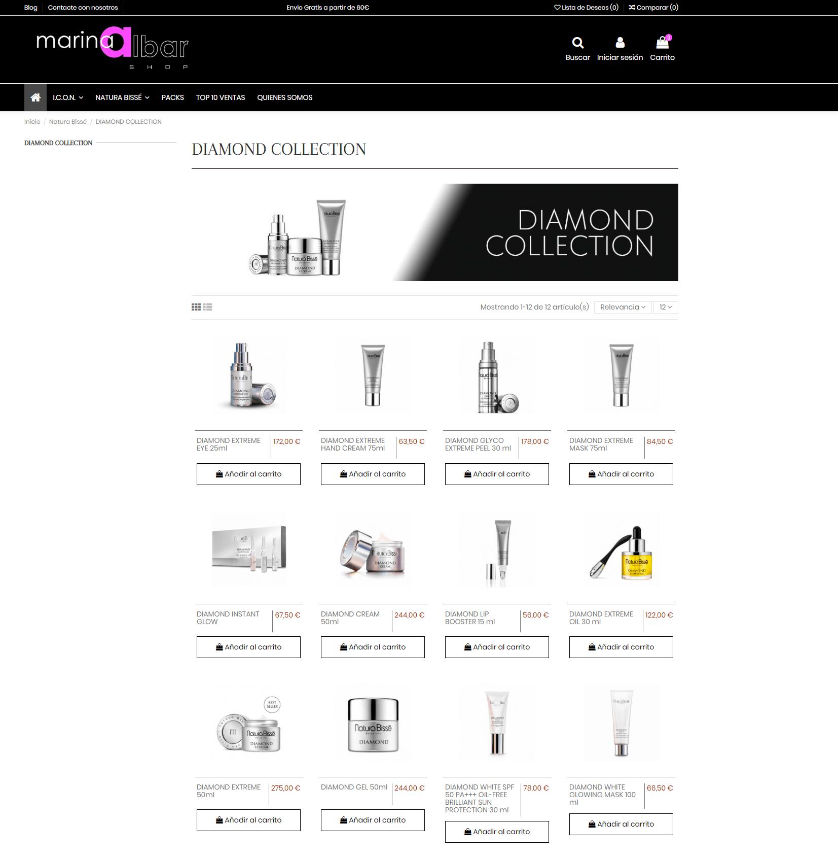 Marina Albar Shop - Categoría de producto