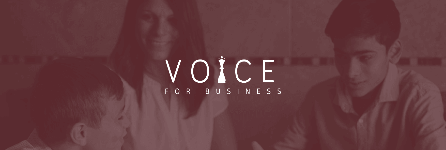 Voice For Business fondo