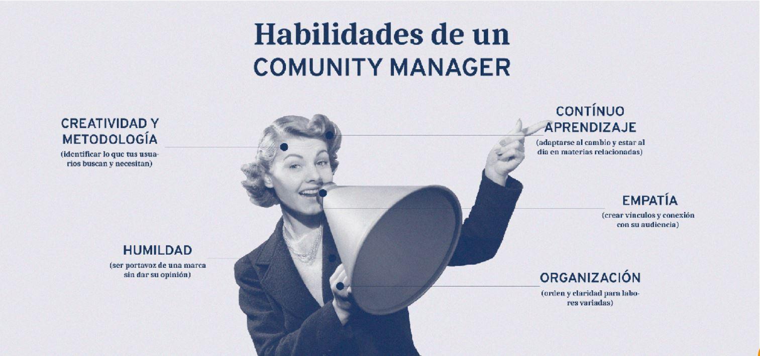 ¿Qué habilidades tiene que tener un buen community manager?