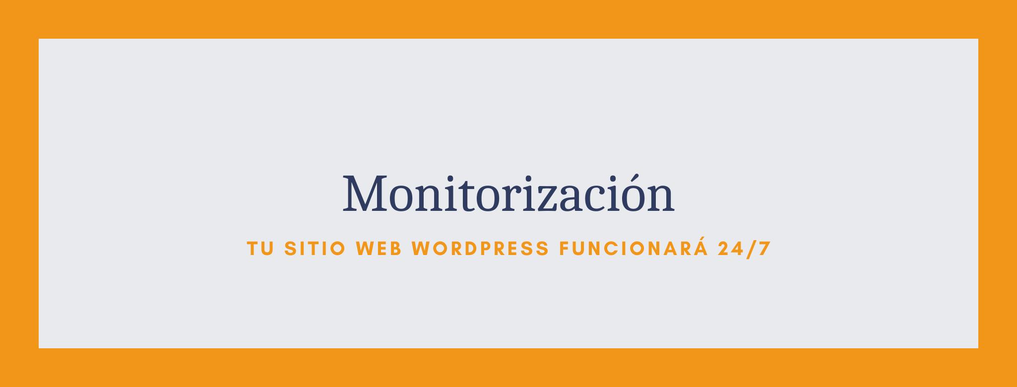 Monitorización de tu sitio web como parte del servicio de mantenimiento de WordPress