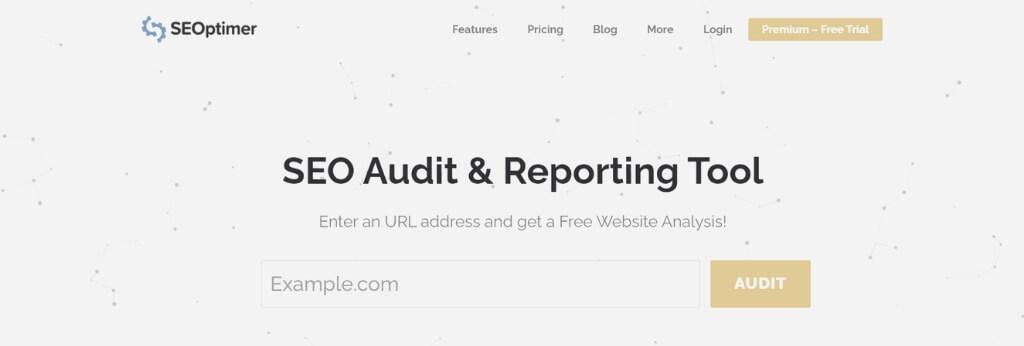 SEOptimer herramienta auditoría SEO gratuita