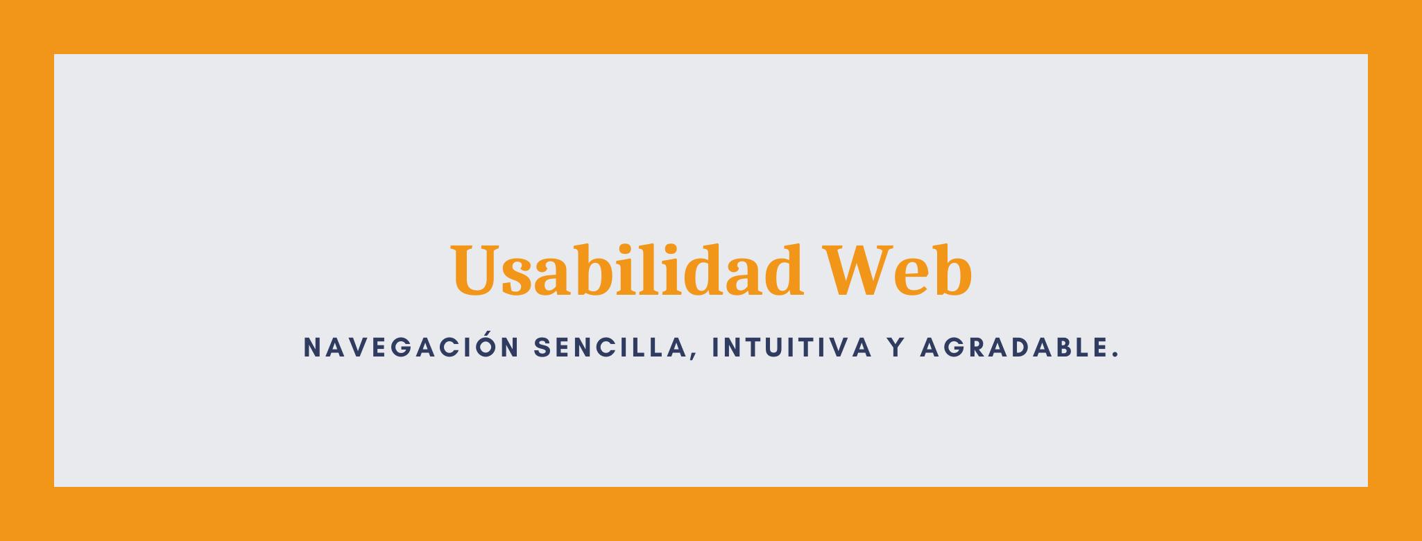Infografía usabilidad web.