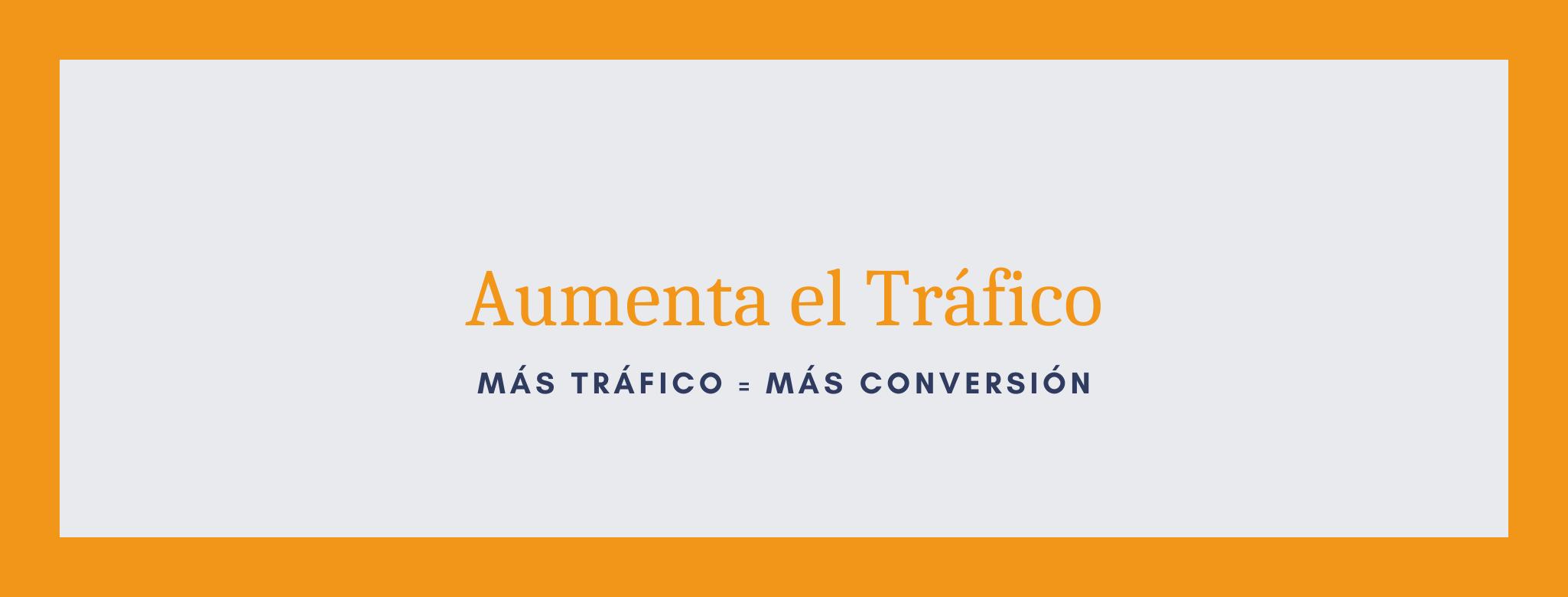 Aumenta el tráfico SEO de tu sitio web.