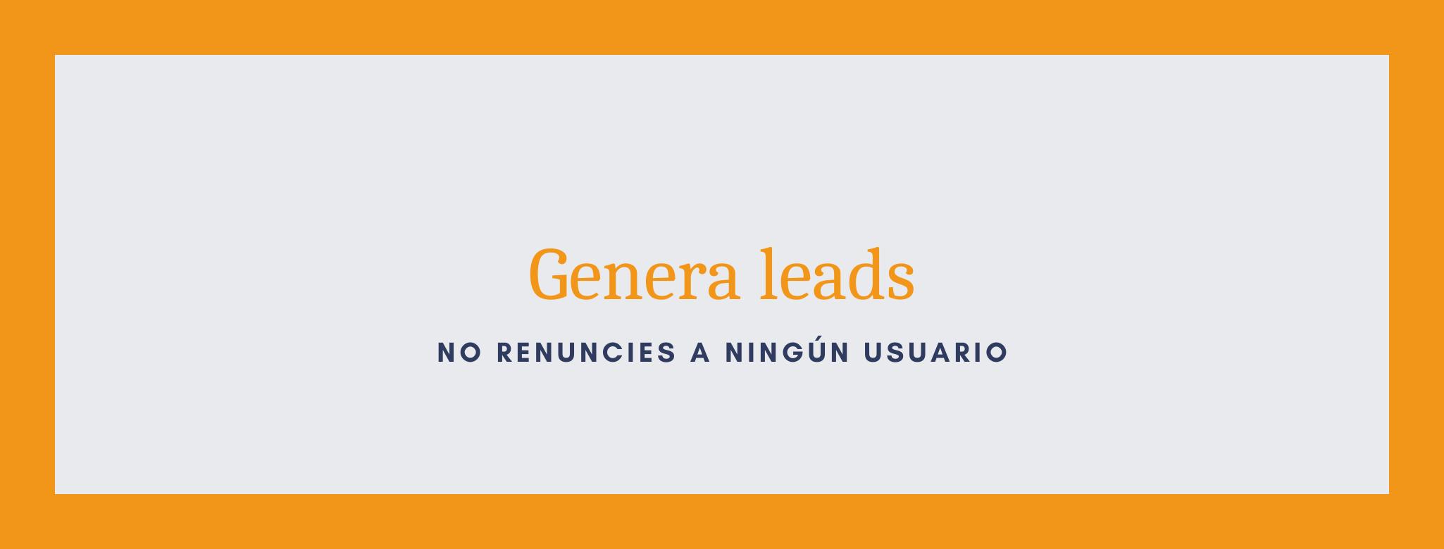 Genera leads mediante la gestión de un blog.