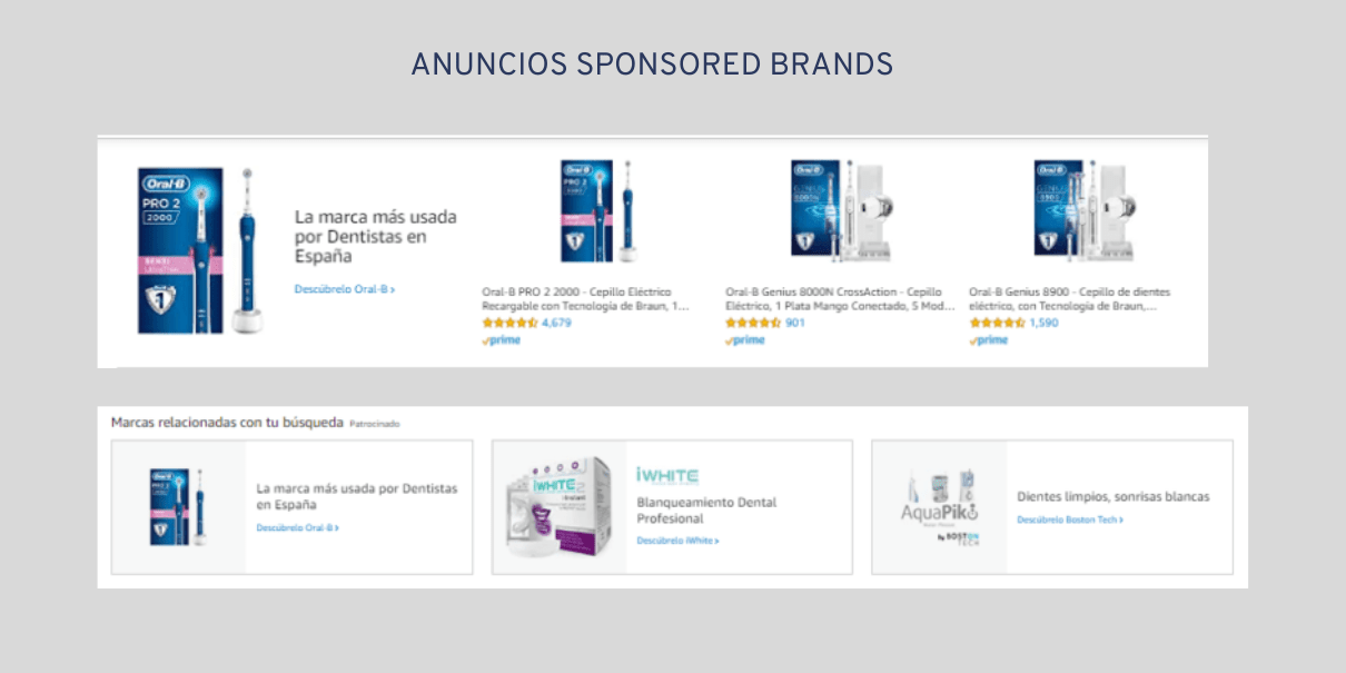 publicidad en amazon advertising con sponsored brands
